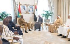 الصورة: الصورة: محمد بن زايد: الإمارات تولي أهمية كبيرة لعلاقاتها مع الدول الأفريقية