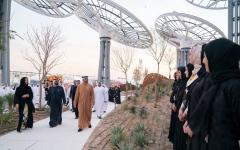 الصورة: الصورة: محمد بن راشد ومحمد بن زايد: بقيادة خليفة.. الإمارات رسخت مكانتها العالمية