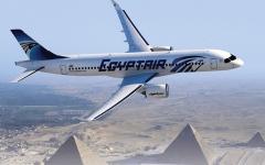 الصورة: الصورة: مصر للطيران تعلق رحلاتها إلى الصين بسبب فيروس كورونا