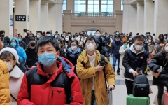 الصورة: الصورة: الصين: ارتفاع وفيات كورونا إلى 259 والإصابات 11 ألفاً