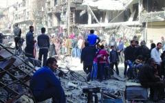 الصورة: الصورة: 40 % من اللاجئين الفلسطينيين لا يزالون في سوريا