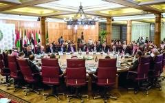 الصورة: الصورة: الجامعة العربية ترفض بـالإجماع «صفقة القرن»