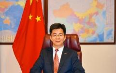 """الصورة: الصورة: القنصل الصيني لـ """"البيان"""": الوضع مطمئن ونجمع معلومات عن الصينيين القادمين إلى الإمارات"""