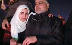 الصورة: الصورة: جمانة تحظى بعناق والدها بعد «يتم» 18 عاماً