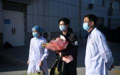 الصورة: الصورة: شفاء 632 مصابا بفيروس كورونا وخروجهم من المستشفى
