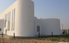 الصورة: الصورة: إنجاز أكبر مبنى مطبوع ثلاثي الأبعاد في العالم في دبي