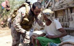 الصورة: الصورة: الإمارات تحتفي بجنودها البواسل المشاركين في مهمة اليمن