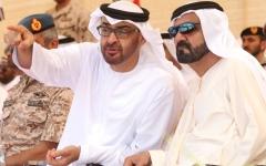 الصورة: الصورة: محمد بن راشد ومحمد بن زايد: حماة الاتحاد.. يد تحمي وأخرى تبني