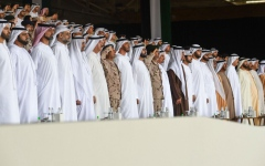 الصورة: الصورة: الإمارات تحتفي بأبنائها المشاركين ضمن قوات التحالف العربي في اليمن