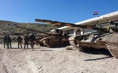 الصورة: الصورة: الجيش السوري يستعيد أكبر بلدات ريف حلب
