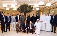 """الصورة: الصورة: مجلس تحرير """"البيان"""" يجتمع في المقر الجديد لـ""""نادي دبي للصحافة"""""""