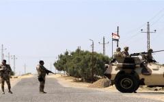 الصورة: الصورة: مصر: إحباط هجوم إرهابي في سيناء ومقتل 10 إرهابيين