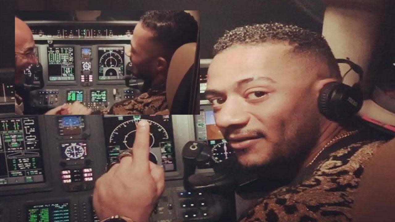 محمد رمضان يرد على الطيار الموقوف مدى الحياة فكر وفن شرق وغرب البيان