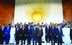 الصورة: الصورة: القمة الأفريقية.. توافق على الحل السلمي لأزمات القارة