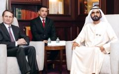 الصورة: الصورة: محمد بن راشد يؤكد عمق العلاقات بين الإمارات وروسيا