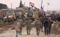 الصورة: الصورة: إطلاق نار يشعل «صراع الرايات» شمال شرق سوريا