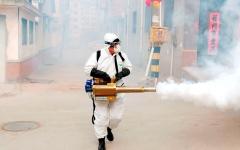 الصورة: الصورة: شاهد.. كيف تحارب مدينة ووهان الصينية فيروس كورونا