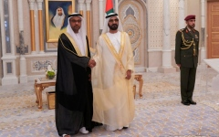 الصورة: الصورة: محمد بن راشد: الإمارات دولة محبة وسلام