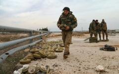 الصورة: الصورة: الجيش السوري يتقدم في ريفي حلب وإدلب