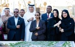 الصورة: الصورة: رئيس الوزراء الإثيوبي يزور موقع إكسبو 2020