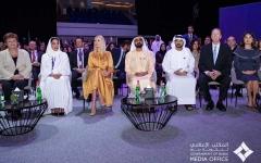 الصورة: الصورة: محمد بن راشد يشهد الافتتاح الرسمي لمنتدى المرأة العالمي دبي 2020
