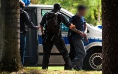 الصورة: الصورة: ألمانيا تضبط إرهابيين خططوا لهجمات ضد المساجد
