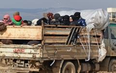 الصورة: الصورة: تحذير مرعب.. 900 ألف سوري مهددون بالموت برداً