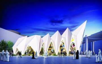 الصورة: الصورة: «إكسبو لايف» خيمة تروي تأسيس الإمارات