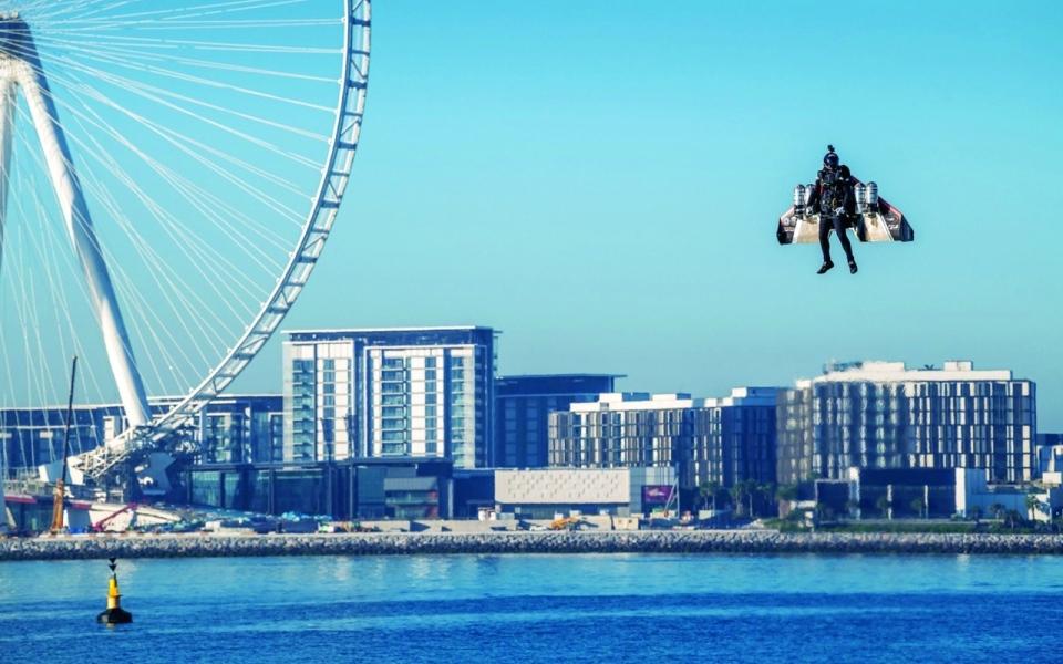 الصورة: الصورة: إكسبو 2020 دبي يقدم للعالم مشروع «الطيران البشري»