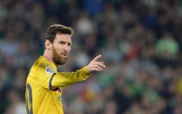 الصورة: الصورة: برشلونة ينفي وقوفه خلف انتقاد ميسي ولاعبين آخرين