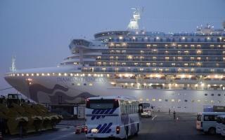 """الصورة: الصورة: كندا تؤكد إصابة 32 من رعاياها بفيروس كورونا على السفينة """"الموبوءة"""""""