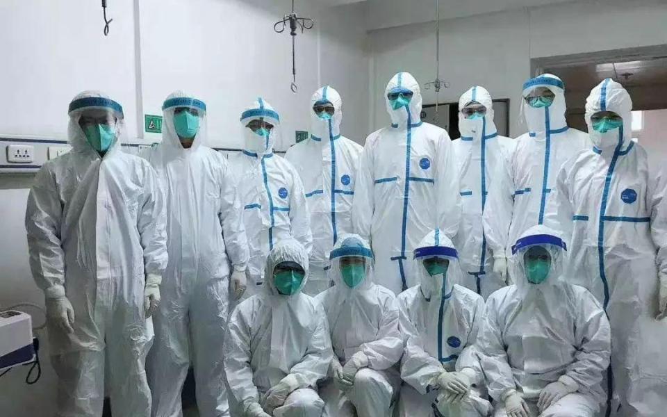 الصورة: الصورة: الصين تعلن شفاء  10.8 آلاف مريض بفيروس كورونا المستجد
