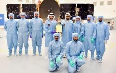 الصورة: الصورة: الإمارات تنضم للدول العظمى في غزو الفضاء