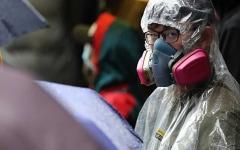 """الصورة: الصورة: ثاني حالة وفاة بـ """"كوفيد-19"""" في هونغ كونغ"""