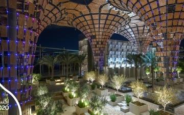 الصورة: الصورة: روائع المعمار تنبض بالحياة في إكسبو 2020