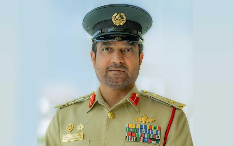 الصورة: الصورة: شرطة دبي تؤكد انتحار أسيوي من على بناية