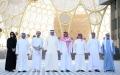 الصورة: الصورة: سيف بن زايد بصحبة وزراء داخلية السعودية والبحرين والكويت وسلطنة عمان يزورون موقع إكسبو 2020