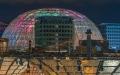 الصورة: الصورة: إكسبو 2020 عروض ضوئية مبهرة في قبة «الوصل»