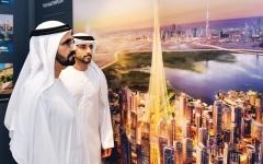 الصورة: الصورة: حمدان بن محمد: برؤية محمد بن راشد دبي تسبق مدن العالم