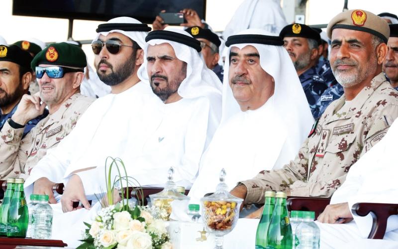 الصورة: الصورة: حاكم أم القيوين: في عهد خليفة قواتنا المسلحة تبوّأت مكانة خاصة