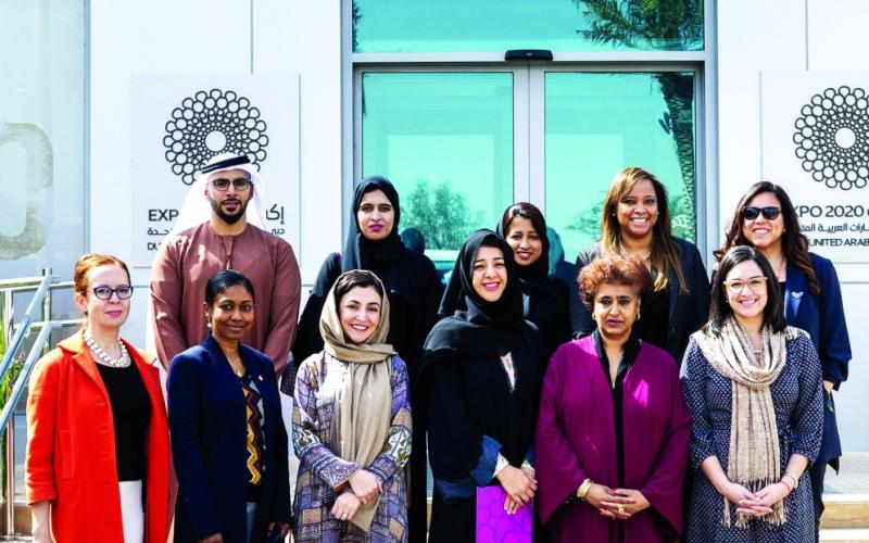 الصورة: الصورة: الإمارات تستضيف سفيرات  من الأمم المتحدة