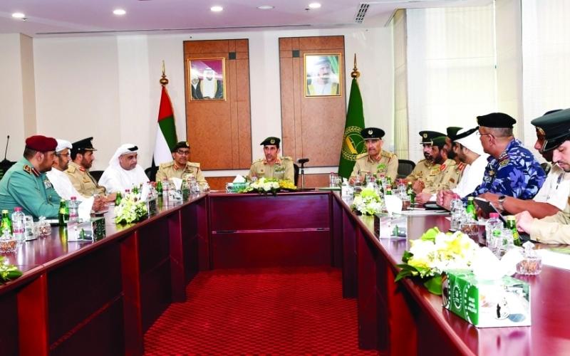 الصورة: الصورة: المري يترأس اجتماع المجلس الأمني للتحضير لإكسبو