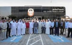 الصورة: الصورة: قضاء أبوظبي تسلم مستحقات 762 عاملا عبر المحكمة المتنقلة