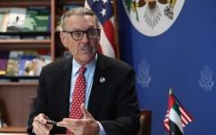 الصورة: الصورة: السفير الأمريكي: نرغب باستراتيجية لعلاقتنا مع الإمارات تمتد لـ 100 عام