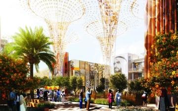 الصورة: الصورة: إكسبو 2020..  أعمال إبداعية تحاكي تطور دبي