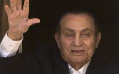 الصورة: الصورة: وفاة الرئيس المصري الأسبق حسني مبارك