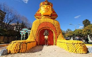 الصورة: الصورة: إبداعات من مهرجان الليمون