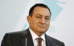 الصورة: الصورة: بدء مراسم تشييع جثمان حسني مبارك