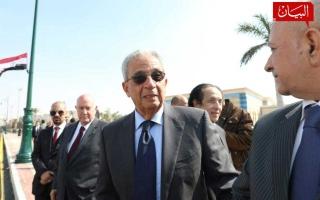 الصورة: الصورة: بالصور.. جنازة الرئيس المصري الأسبق حسني مبارك