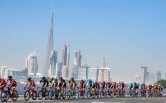 الصورة: الصورة: إلغاء مراحل طواف الإمارات للدراجات المتبقية بعد اكتشاف حالتي كورونا